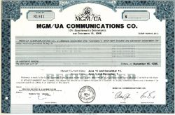 MGM/UA Communications