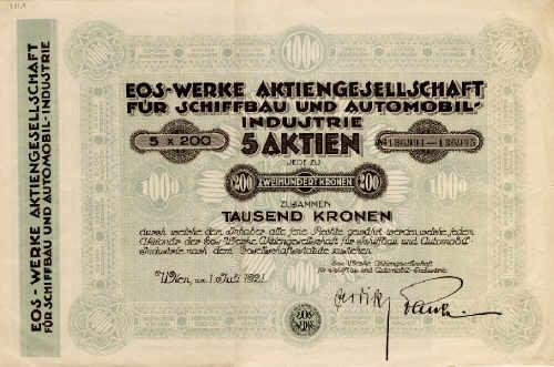 eos münchen aktien