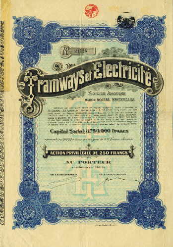 Tramways et Electricite