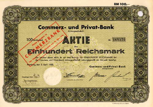Commerz- und Privat Bank