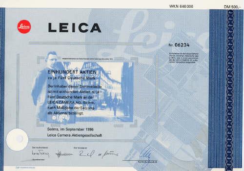 Leica Aktie