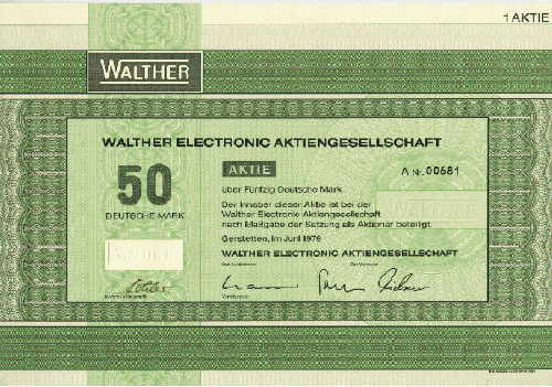Walther Electronic