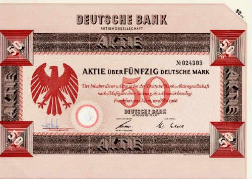 Deutsche Bank Aktie Tradegate
