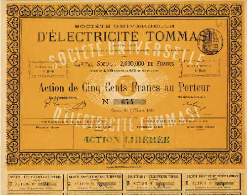 Societe Universelle d'Electricite Tommasi