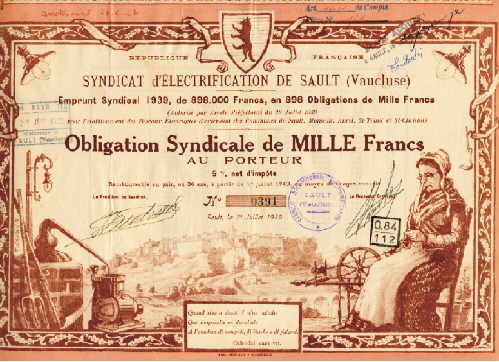 Syndicat d'Electrification de Sault (Vaucluse)