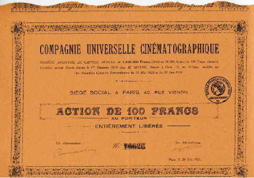 Compagnie Universelle Cinematographique