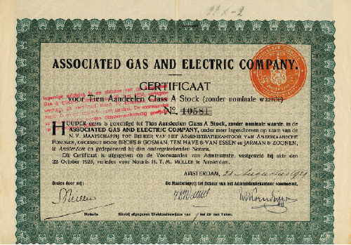 Associated Gas and Electric