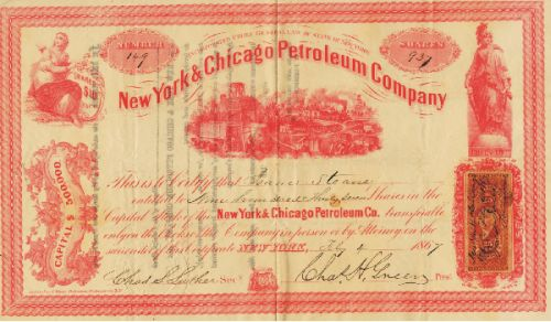 New York & Chicago Petroleum