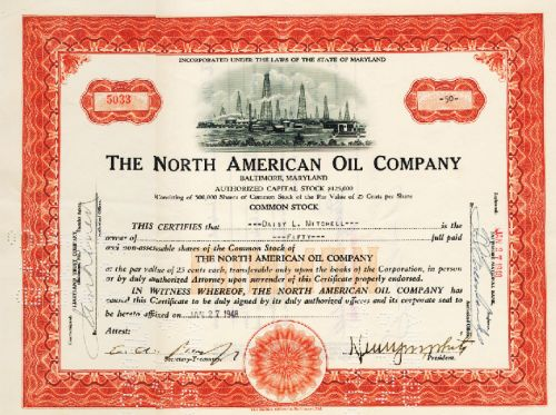 North American Oil