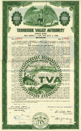 Tennessee Valley Authorithy