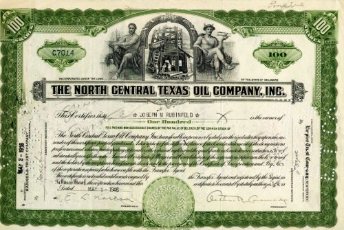 North Central Texas Oil