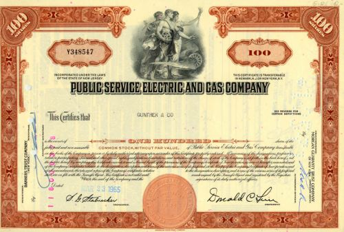 Public Service Electric and Gas