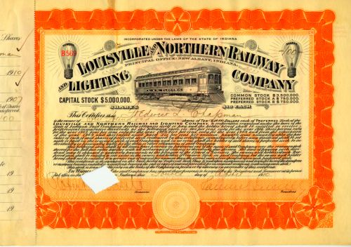 Louisville and Northern Railway and Lighting