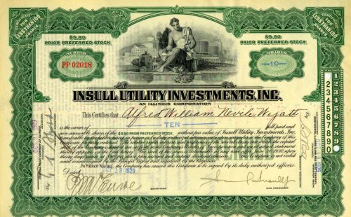 Insull Utility Investments