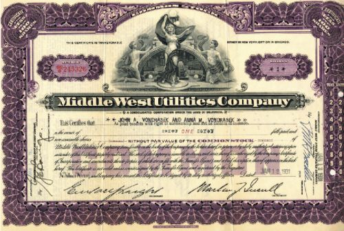 Middle West Utilities