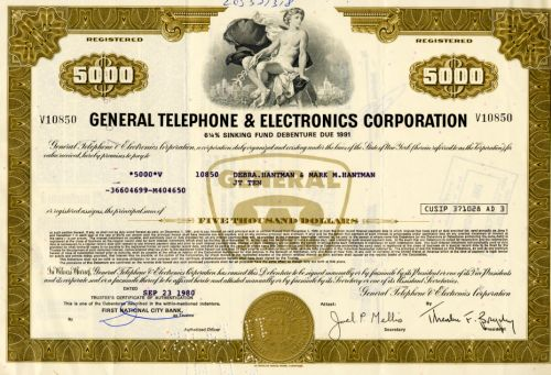 General Telephon & Electronics