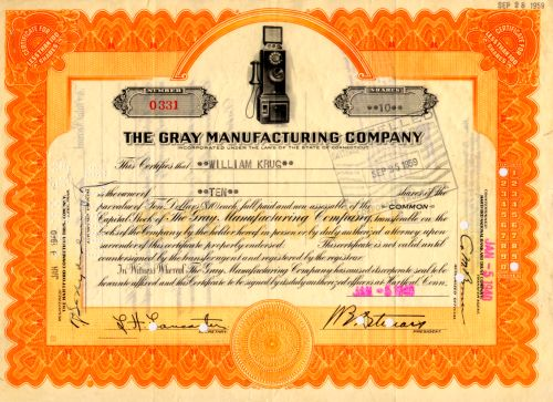 Gray Manufacturing