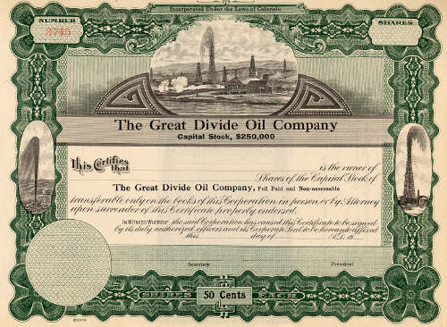 The Great Divide Oil Com.
