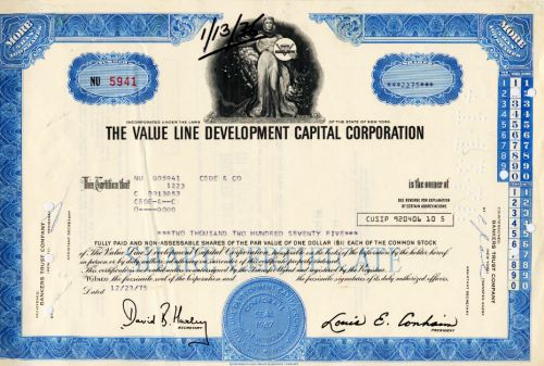 Value Line Development Capital