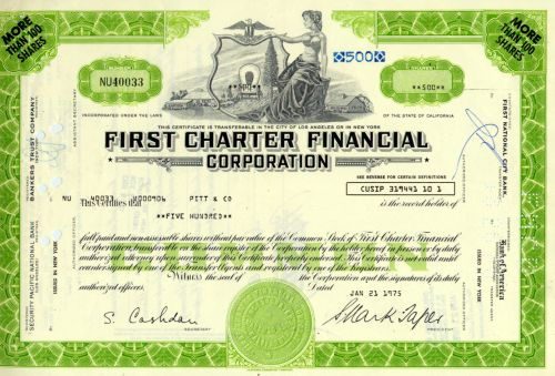 First Charter Financial