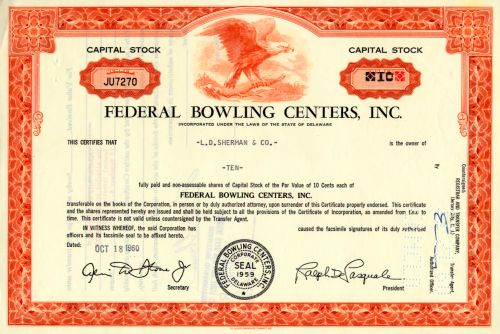 Federal Bowling Centers