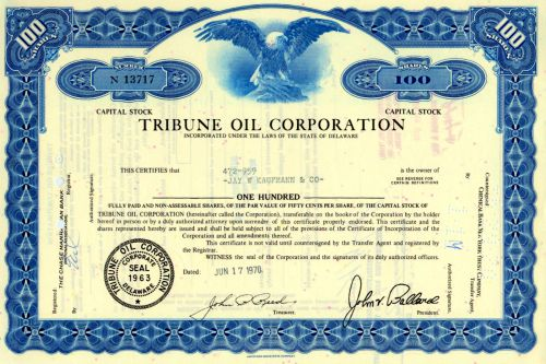 Tribune Oil