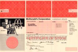 McDonald Aktie