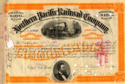 Northern Pacific Railroad-Aktie