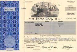 Enron Aktie